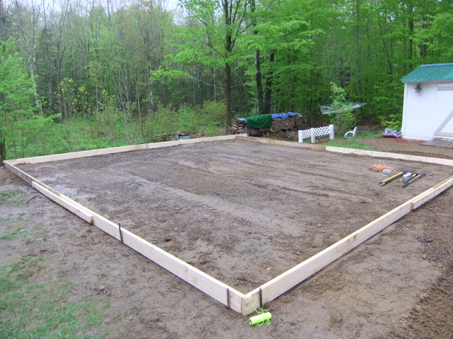 Welcome for Cost of concrete foundation for garage